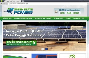 Green state Power New Website