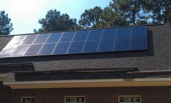 Pinehurst PV installation